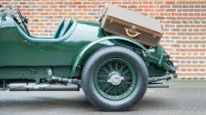 vintage bentley coupe rare bentley with vintage louis vuitton luggage is up for sale