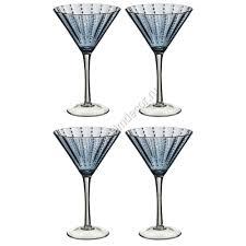 martini blue бокал для мартини синий купить