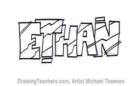 graffit letters ethan keeps art pinterest graffiti and draw