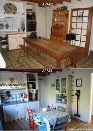 cuisine avant apr鑚 travaux avant après rénover une vieille cuisine à moindre coût