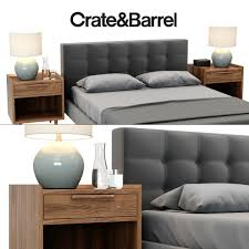 crate and barrel 3d crate and barrel tate collection cgtrader