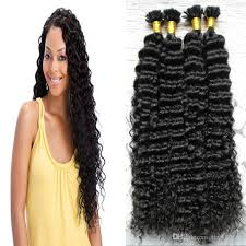 bonding extensions curly fusion hair extensions 200g keratin human