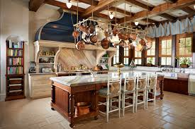 pot rack with lights eclectic kitchen features an oval pot rack