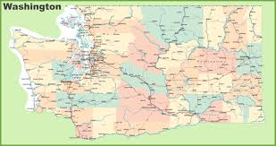 Road Maps Usa by Washington State Maps Usa Maps Of Washington Wa