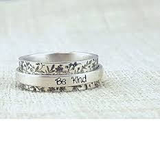 worry ring inspiration ring work stay humble be