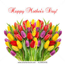 flowers for s day mothers day bouquet fresh tulips stock photo 413893456