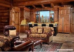manor log cabin rustic style decorating cabin decor bear decor how