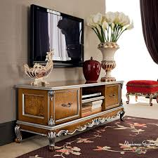 classic tv cabinet wooden casanova modenese gastone luxury