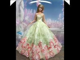 112 beautiful barbie dresses vestidos hermosos para muñecas youtube