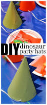 how to make a dinosaur party hat a crafty spoonful
