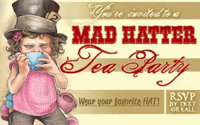 mad hatters tea party invitation ideas felt top hats and a wonderland party busy mockingbird