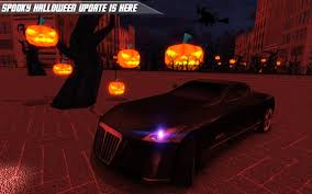 halloween background of wich car parking free android apps on google play