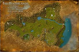 map quests the hinterlands map with locations npcs and quests of