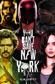 you cant save new york the defenders poster by