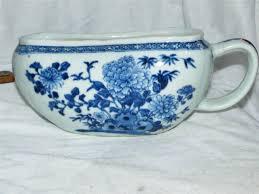 pot de chambre antique antique chinois femmes bourdaloue crinoline chaussons transport
