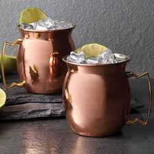 moscow mule mugs copper moscow mule mug 16 oz set of 2 wine enthusiast