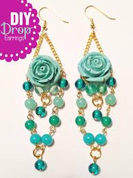 diy drop earrings bkg story earrings everyday challenge february diy drop earrings