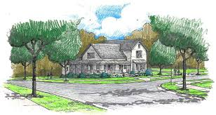 t shaped farmhouse floor plans cottage style homes at daleville town center