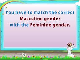 learn grade 2 english grammer nouns gender youtube
