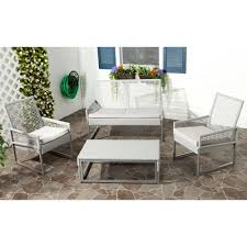 4 piece patio furniture sets gray wicker patio furniture patio furniture outdoors the