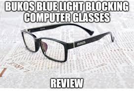 blue light glasses review bukos blue light blocking computer glasses review unisex eyewear to
