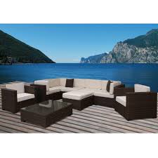 Patio Dining Sets San Diego - brown tan patio conversation sets outdoor lounge furniture