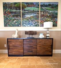 Small Component Cabinet Furniture Showcase Your Tv Using Classy Crate And Barrel Media