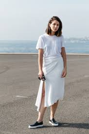 all white casual how to wear all white without looking high maintenance