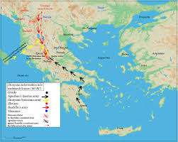 Syracuse Map File Dionysius Of Syracuse Military Expedition For Alcetas Map