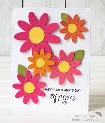 Mother S Day 2017 Flowers by Lawn Fawn Flower Power U2013 Mother U0027s Day Card U2013 Right As Rain