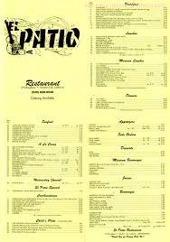 The Patio Orland Park Menu by The Patio Restaurant Menu Icamblog