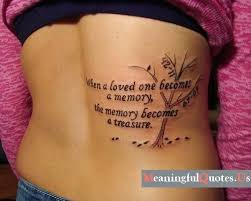 lower back loved memory quote golfian com