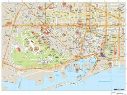 Antibes France Map by Map Of Barcelona Travel