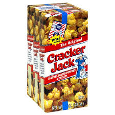 personalized cracker jacks cracker original triples 3 count pack of 24