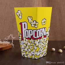 popcorn favor bags new arrival food safe mini party paper popcorn boxes candy favor