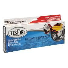 testors 0 25 oz 8 color auto detail enamel paint set 6 pack
