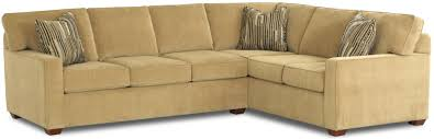 Klaussner Sectionals L Shaped Contemporary Sectional Sofa By Klaussner Wolf And