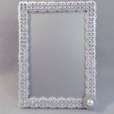 silver frames for wedding table numbers best rhinestone wedding frames products on wanelo