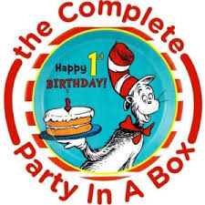 dr seuss 1st birthday dr seuss theme party planning ideas supplies partyideapros