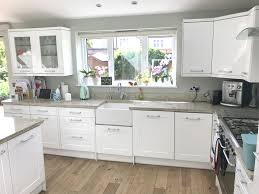 white gloss kitchen doors cheap magnet white gloss kitchen with island utility room granite worktops and appliances used