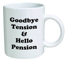 amazon com retirement coffee mug good bye tension and hello