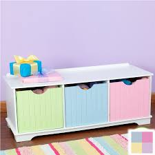 shop kidkraft 39 in w x 14 in h x 16 49 in d pastel composite wood