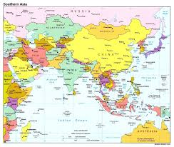 map of countries of asia asia political map with capitals best of countries exceptional and