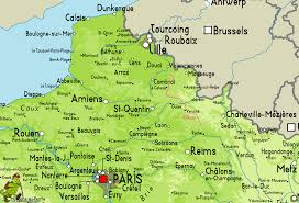 Nantes France Map by Map France Belgium France Map