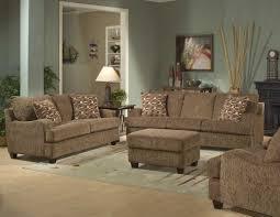 Retro Upholstery Amazing Retro Living Room Furniture Sets Using Chocolate Brown