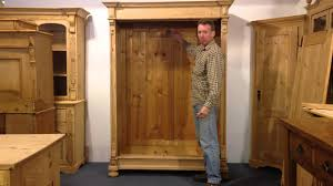Wardrobe Furniture How To Assemble An Old Pine Wardrobe Pinefinders Old Pine