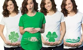st patty u0027s day maternity shirt groupon goods