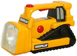 amazon com toy state caterpillar construction flash light and