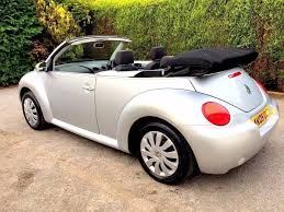 convertible 2005 volkswagen beetle cabriolet 1 6 petrol manual