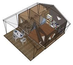 tente de cuisine location de tentes lodges 5 personnes cing le douzou